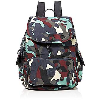 Kipling City Pack S - Multicolored Women's Backpacks (Camo Large) 27x33.5x19 cm