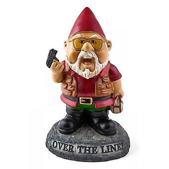BigMouth Inc. Over The Line Garden Gnome
