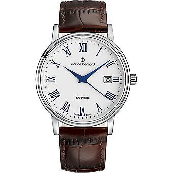Claude Bernard - Wristwatch - Unisex - Classic Gents - 53007 3 ARBUN