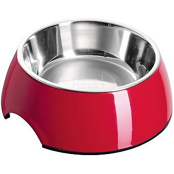 Hunter Melamiini ruokinta Bowl [uni] Red (koirat, kulhot, syöttölaitteet & Vesijakelimet)