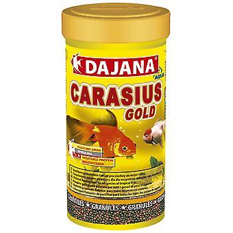 Dajana Carasius Gold Granulos 250ml (Fish , Food , Warm Water)