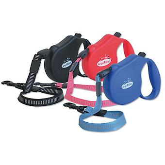 Arquivet Arqui Roller Classic-3, Red (Dogs , Collars, Leads and Harnesses , Leads)