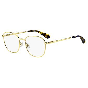 Kate Spade Makensie 086 Gold-Dark Havana Glasses