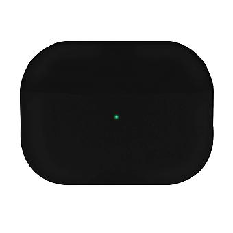 Full AirPods Pro Silicone Soft-touch Matte Effect Cover Wireless Charging-Black