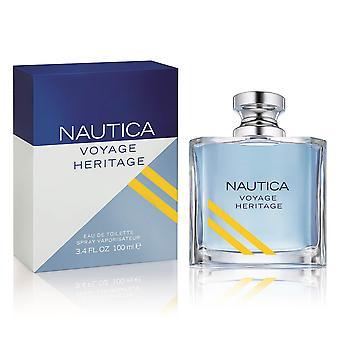 Nautica Voyage Heritage Eau de Toilette Spray 100ml