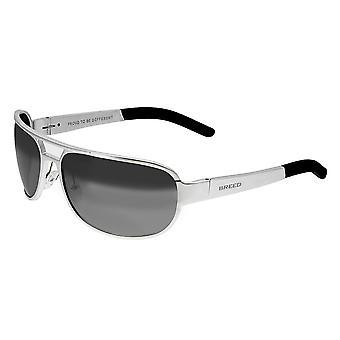 Raza Xander aluminio polarizado gafas de sol - plata/plata