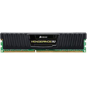 Corsair CML4GX3M1A1600C9 Εκδίκηση χαμηλού προφίλ 4 GB μνήμη ς γραφείου υψηλής απόδοσης (1x4 GB), DDR3, 1600 MHz, CL9, με υποστήριξη XMP, Μαύρο