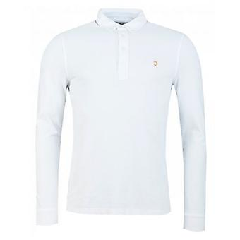 Farah Ricky Long Sleeved Polo Shirt