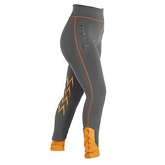 Firefoot Burnby Childrens Breeches - Charcoal/orange