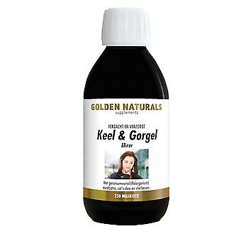 Golden Throat Gargle Elixir (250 milliliters) & Naturals