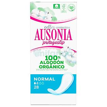 Ausonia Protegeslip Organic Normal 28 units