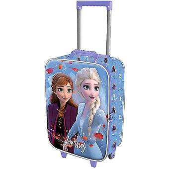 Frozen 2, Resväska med 3D-motiv - Journey