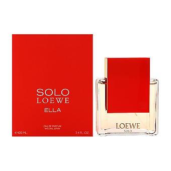 Solo loewe ella by loewe for women 3.4 oz eau de parfum spray