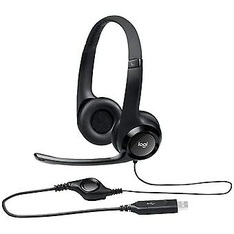Logitech 981-000014 H390 USB Computer Digital Sound Headset Microphone