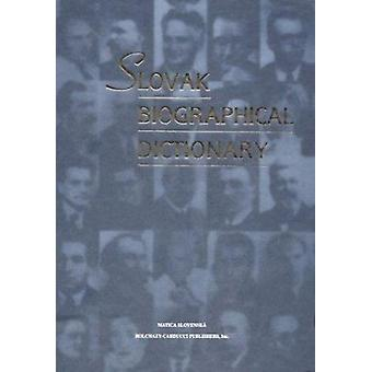 Slovak Biographical Dictionary (English language ed) by Augustin Mait