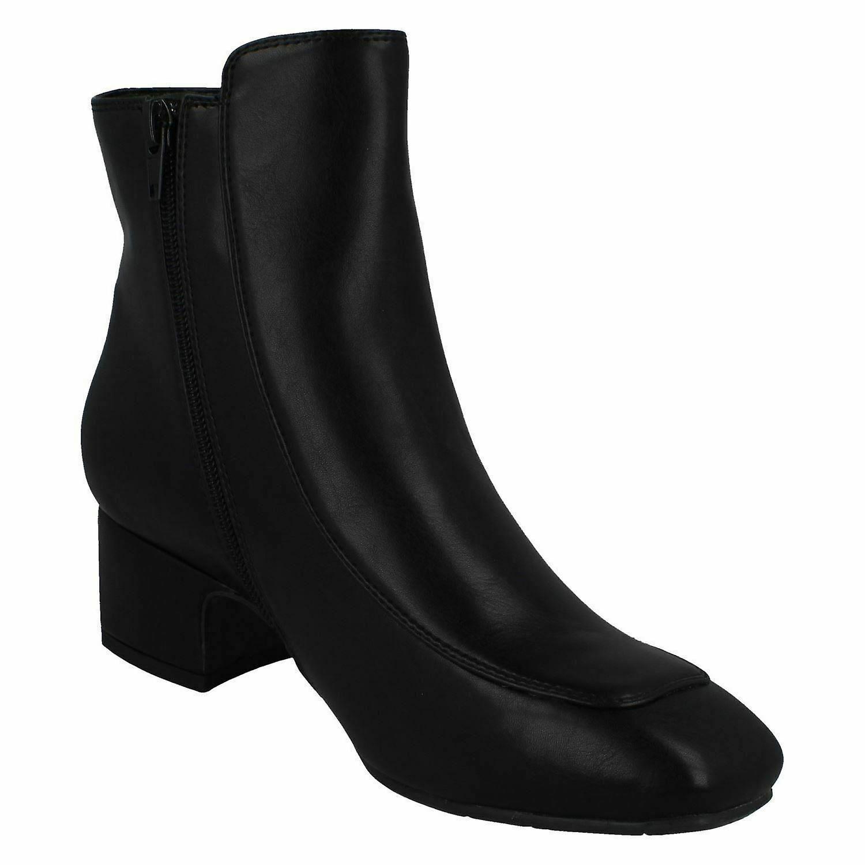 Flekk På Kvinner/damer Pu Mid Ankel Boots