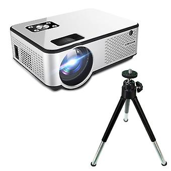 CRENOVA C9 LED Projector & Tripod - Beamer Home Media Players