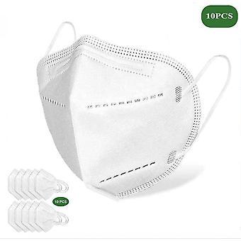 Mouthguard / Maschera protettiva con 99% efficace filtrazione bianco, 10 Pack!