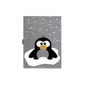 Rug PETIT PENGUIN SNOW grey