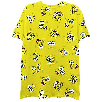 SpongeBob SquarePants All Over Print T-Shirt