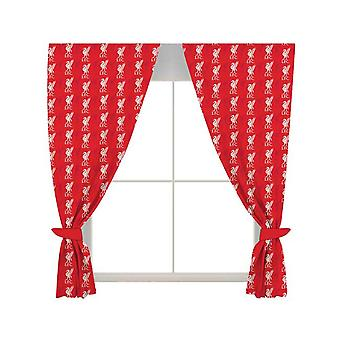 Liverpool FC Repeat Crest Curtains