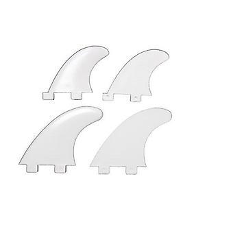 Northcore - fcs compatible quad fins set - white