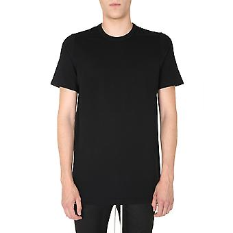 Rick Owens Ru20f3264ja09 Men's Black Cotton T-shirt