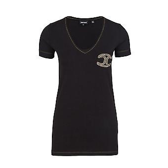 Just Cavalli av Roberto Cavalli Kortärmad skjorta Top Top Shirt T-shirt NY