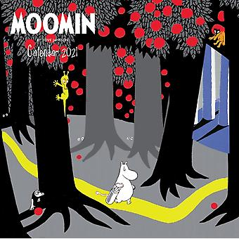 Moomin Wandkalender 2021 Art Cale von Tove Jansson