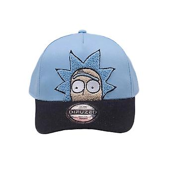 Rick and Morty Chenille Embroidered Curved Bill Cap