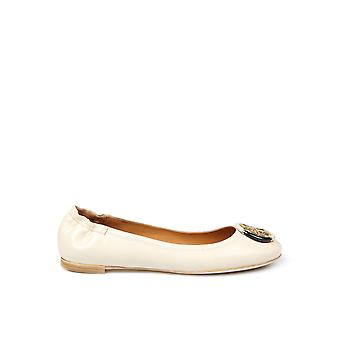 Tory Burch 74062122 Dames's Beige Leather Flats