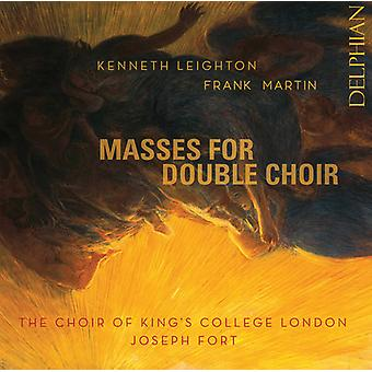 Masses For Double Choir [CD] USA import