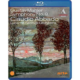 G. Mahler - Claudio Abbado dirigeert Luzern Festivalorkest [BLU-RAY] USA import