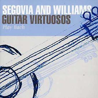 Segovia/Williams - Guitar Virtuosos Play Bach [CD] USA import