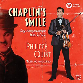 Chaplin's Smile: Song Arrangements Violin & Piano [CD] USA import