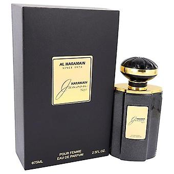 Al Haramain Junoon Noir Eau De Parfum Spray af Al Haramain 2.5 oz Eau De Parfum Spray