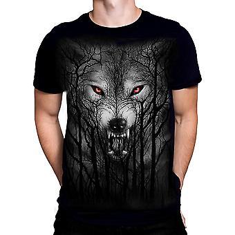 Spiral - forest wolf - t-shirt