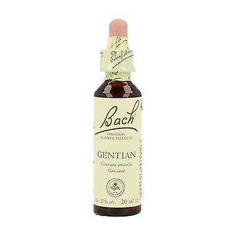 Bach Flower Essences 12 - Gentian 20 ml of floral elixir