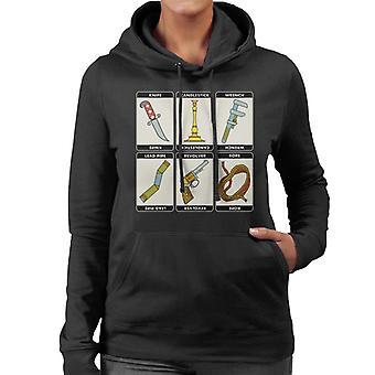Hasbro Cluedo Classic Icons Women's Hooded Sweatshirt