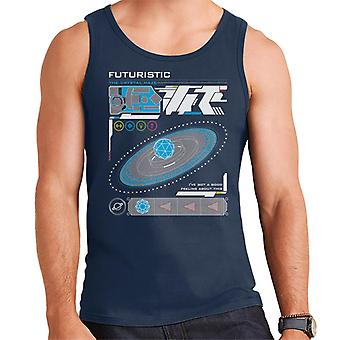 The Crystal Maze Futuristic Interface Men's Vest