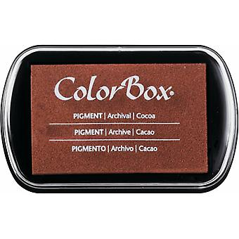 Clearsnap ColorBox Pigment Ink Full Size Cocoa