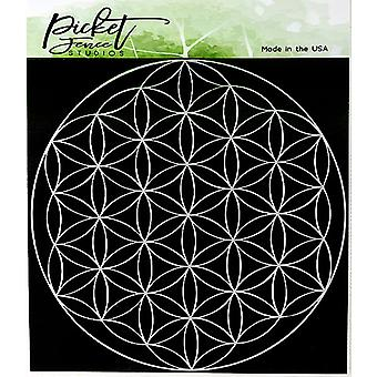 Picket Fence Studios Flower of Life Stencil