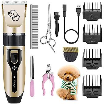 Electrical Dog Hair Trimmer Usb Charging Clipper Rechargeable Low Noise Cat Hair Remover Grooming Hair Cutter Machine