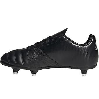 adidas Performance Boys All Blacks Soft Ground Training Rugby Boots - Black