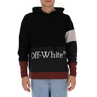 Sudadera off-white Omha094f20kni0011001 Men's Black Cotton Sweatt