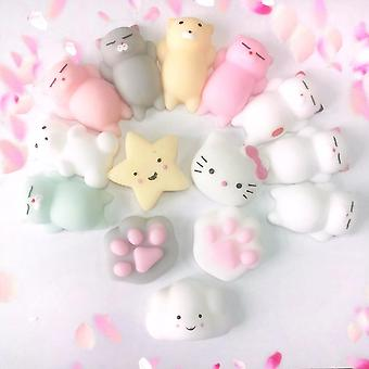 Mini Cute Stress Relief Animal Squeeze Mochi Rising Ball Speelgoed