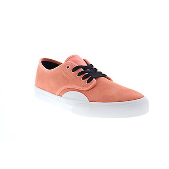 Emerica Wino Standard Mens Pink Suede Lace Up Skate Sneakers Shoes