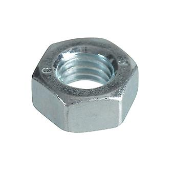 Forgefix Hexagonal Nuts & Washers ZP M8 Forge Pack 16 FORFPNUT8