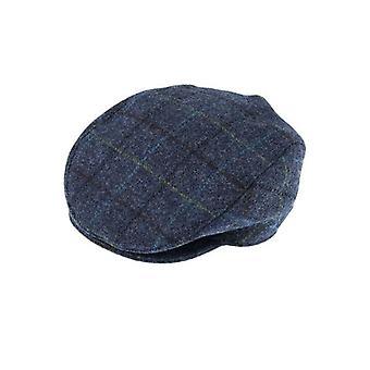 Sininen shekki Abraham Moon Tweed Cap