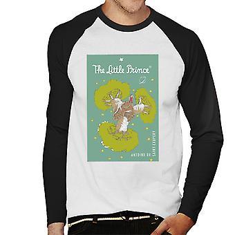 The Little Prince Baobab Tree Art Men's Baseball Long Sleeved T-Shirt
